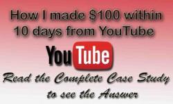 earned money from youtube